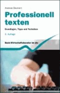 Professionelles Texten - Grundlagen, Tipps und Techniken.