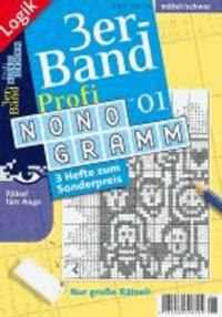 Profi-Nonogramm 3er-Band 01.
