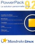 Mandrake - Mandrake Linux PowerPack 9.2 - 7 CD-ROM.
