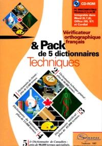 VERIFICATEUR ORTHOGRAPHIQUE FRANCAIS & PACK DE 5 DICTIONNAIRES TECHNIQUES. CD-Rom.pdf
