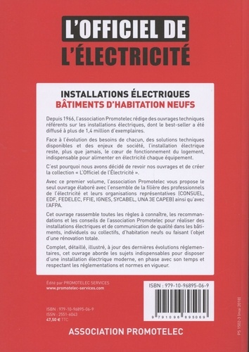 Installations électriques bâtiments d'habitation neufs  Edition 2018