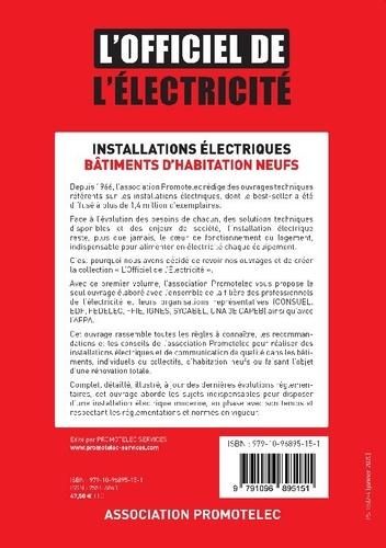Installations électriques, bâtiments d'habitation neufs  Edition 2020