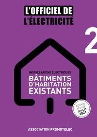 Promotelec - Installations électriques - Bâtiments d'habitation existants.