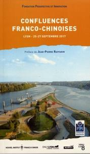 Prospective et Innovation - Confluences franco-chinoises - Les routes culturelles de la soie, Lyon, 24-27 septembre 2017.