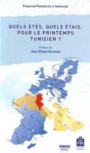 Prospective et Innovation - Quels étés, quels étais, pour le printemps tunisien ?.