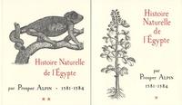 Prosper Alpin - Histoire Naturelle de l'Egypte (1581-1584) - 2 volumes.