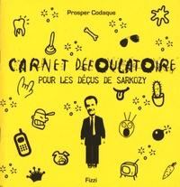 Prosper Codaque et  Fizzi - Carnet défoulatoire pour les déçus de Sarkozy.
