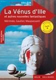 Prosper Mérimée et Théophile Gautier - La Vénus d'Ille et autres nouvelles fantastiques.
