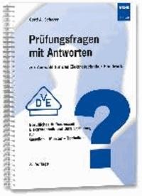 Prüfungsfragen mit Antworten zur Auswahl für das Elektrotechniker-Handwerk - Berufliches Aufbauwissen Elektrotechnik und Unfallverhütung für Gesellen - Meister - Techniker.