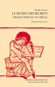 Le secret des secrets - Traduction du XVe siècle.pdf
