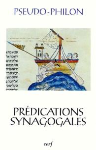 Pseudo-Philon - Prédications synagogales.