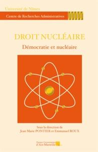 PU Aix-Marseille - Droit nucléaire - Démocratie et nucléaire.