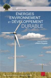 PU Aix-Marseille - Energies, environnement et développement durable.