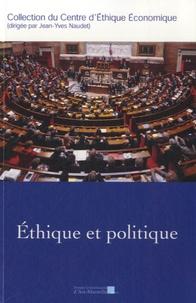 PU Aix-Marseille - Ethique et politique.