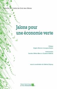 PU Aix-Marseille - Jalons pour une économie verte.
