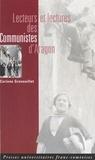PU Franche-Comté - Lecteurs et lectures des Communistes d'Aragon.
