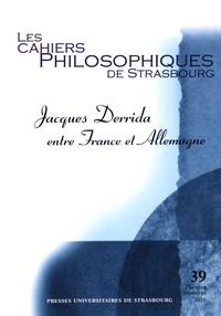 Les Cahiers Philosophiques de Strasbourg N° 39, premier semes.pdf