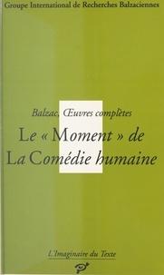 """PU Vincennes - Le """"moment"""" de la comédie humaine - Balzac, oeuvres complètes."""