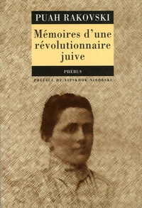 Puah Rakovski - Mémoires d'une révolutionnaire juive.