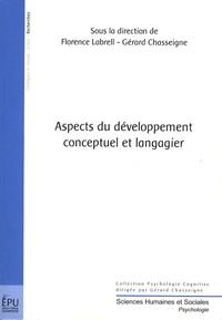 Gérard Chasseigne et Florence Labrell - Aspects du développement conceptuel et langagier.