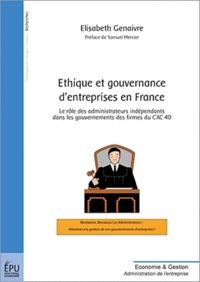 Ethique et gouvernance dentreprises en France.pdf