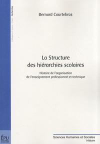 Bernard Courtebras - La Structure des hiérarchies scolaires - Histoire de l'organisation de l'enseignement professionnel et technique.