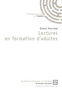 Cédric Frétigné - Lectures en formation d'adultes.
