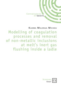 Modelling of coagulation processes and removal of non-metallic inclusions at melts inert gas flushing inside a ladle.pdf