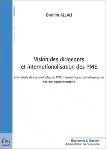 Brahim Allali - Vision des dirigeants et internationalisation des PME.