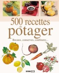 500 recettes du potager - Bocaux, conserves, confitures....pdf