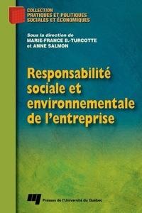 PUF - Responsabilité sociale et environnementale de l'entreprise.