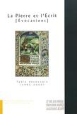 Marie-Françoise Bois-Delatte et Jean-François Grenouiller - La Pierre et l'Ecrit (Evocations) : Table décennale 1990-2000 - 10 années de parution.