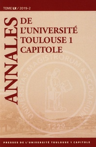 Annales de luniversité Toulouse 1 Capitole - Tome 60.pdf