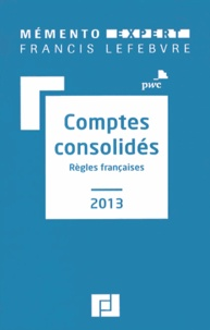 PWC - Comptes consolidés - Règles françaises.