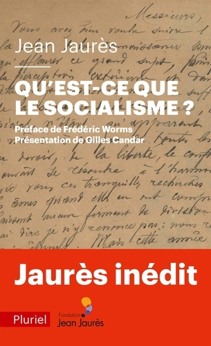 Qu'est-ce que le socialisme ?. Une leçon de philosophie