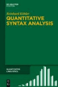 Quantitative Syntax Analysis.