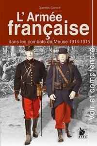 Recherche de livres dans Google L'armée française dans les combats de Meuse 1914-1915 9782846733380