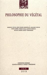 Quentin Hiernaux et Benoît Timmermans - Philosophie du végétal.
