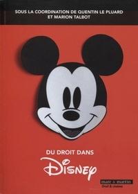 Quentin Le Pluard et Marion Talbot - Du droit dans Disney.