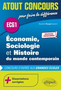 Quentin Rouget - Economie, Sociologie et Histoire du monde contemporain - Concours d'entrée des écoles de commerce. ECG1.