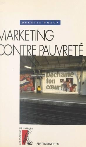 Marketing contre pauvreté
