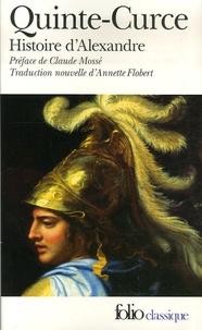 Quinte-Curce - Histoire d'Alexandre.
