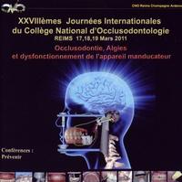 CNO - Occlusodontie, Algies et dysfonctionnement de l'appareil manducateur. 1 DVD