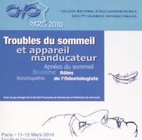 CNO - Troubles du sommeil et appareil manducateur. 1 DVD
