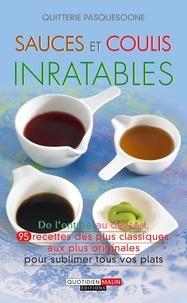 Quitterie Pasquesoone - Sauces et coulis inratables.