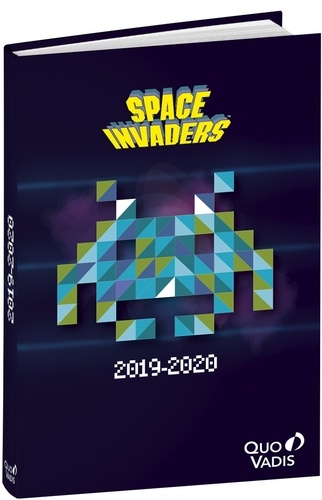 Agenda scolaire Space Invaders 2020-2021