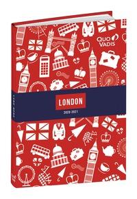 QUO VADIS - Quo Vadis Textagenda Union Jack - Agenda - 1 jour par page - 120 x 170 mm - blanc - disponible dans différentes couleurs