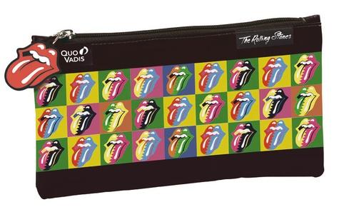 Trousse fourre-tout plate Rolling Stones