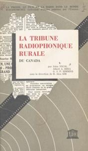 R. Alex Sim et John Nicol - La tribune radiophonique rurale du Canada.