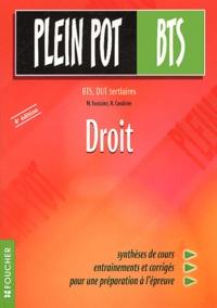 R Cavalerie et M Fontaine - Droit BTS, DUT tertiaires.